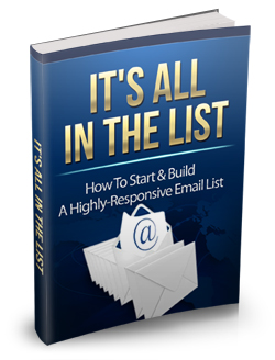 017 – It's All In The List PLR