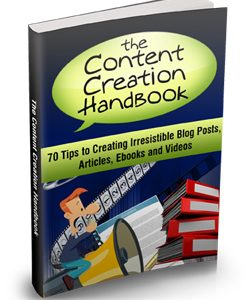 024 – The Content Creation Handbook PLR