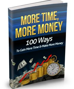 015 – More Time, More Money PLR