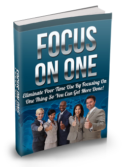 016 – Focus On One PLR