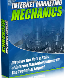 001 – Internet Marketing Mechanics PLR