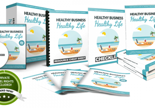 041 – Healthy Business, Healthy Life PLR