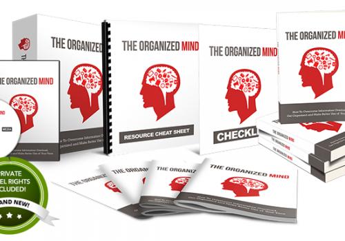 055 – The Organized Mind PLR