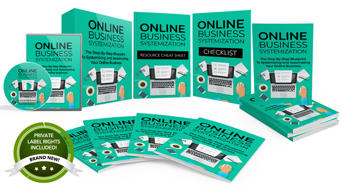 104 – Online Business Systemization PLR
