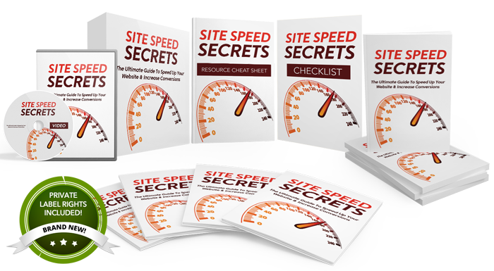 106 – Site Speed Secrets PLR