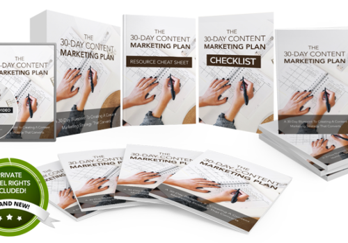 108 – The 30 Day Content Marketing Plan PLR