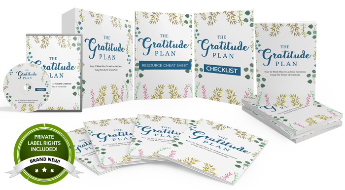 111 – The Gratitude Plan PLR