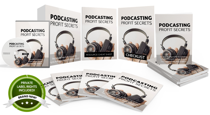112 – Podcasting Profit Secrets  PLR