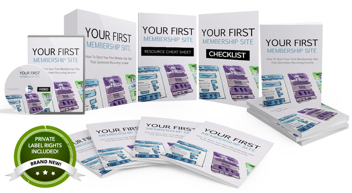 116 – Your First Membership Site  PLR