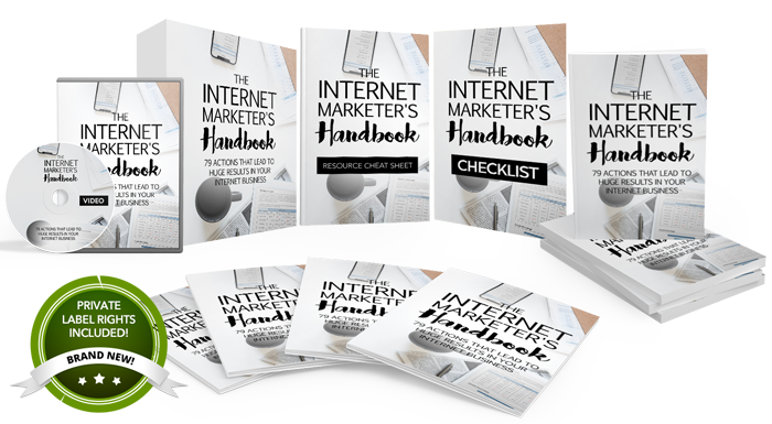 122 – The Internet Marketer's Handbook PLR