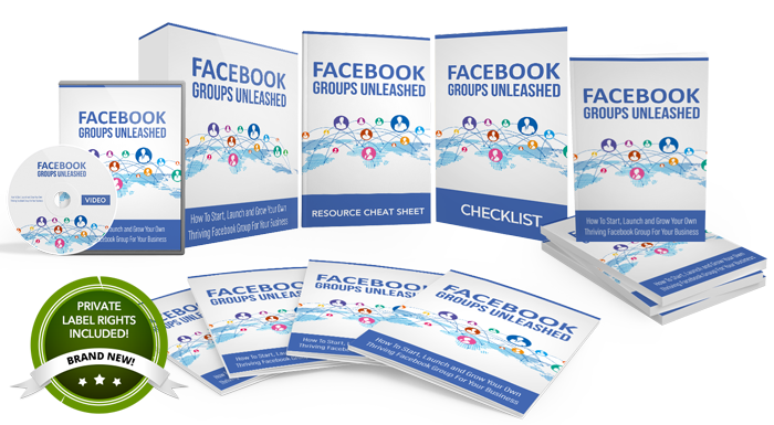 132 – Facebook Groups Unleashed PLR