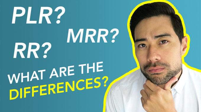 The Difference Between PLR, MRR, RR