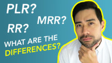 The Differences Between PLR, MRR, RR, And Personal Use Rights