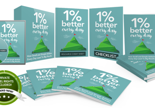 133 – 1% Better Every Day PLR