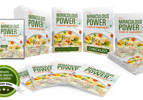 137 – The Miraculous Power Of Fruits And Vegetables PLR