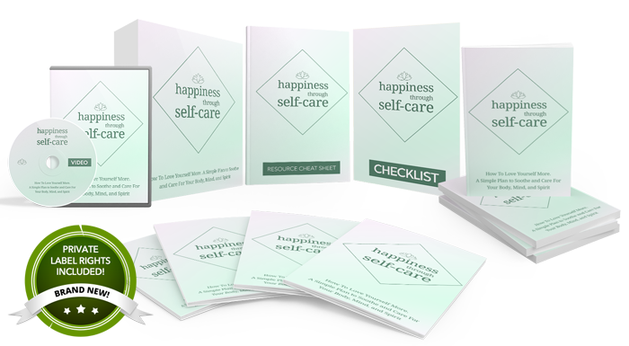 139 – Happiness Through Self-Care PLR