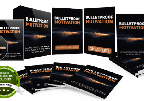141 – Bulletproof Motivation PLR