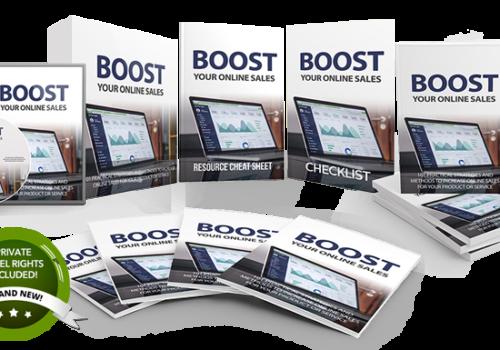 150 – Boost Your Online Sales PLR