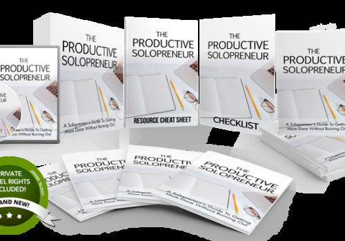 152 – The Productive Solopreneur PLR