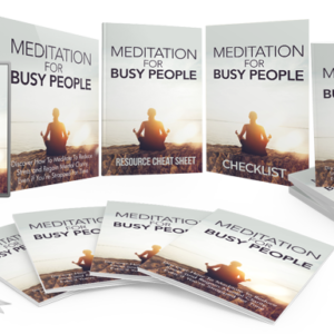 153 – Meditation For Busy People PLR