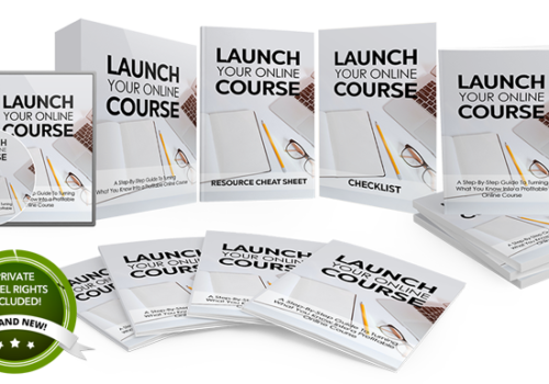 154 – Launch Your Online Course PLR