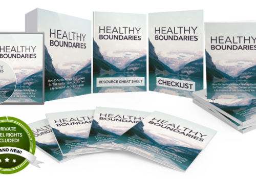 155 – Healthy Boundaries PLR