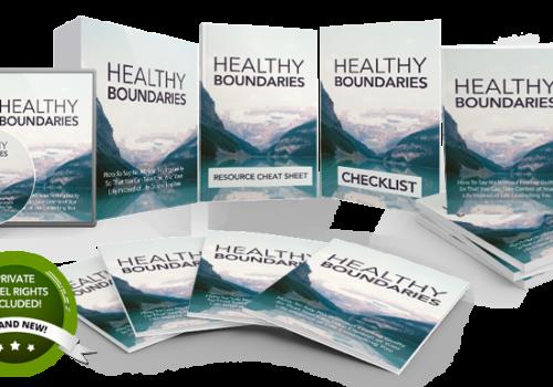 155 – Healthy Boundaries PLR