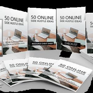 170 – 50 Online Side Hustle Ideas PLR